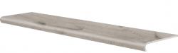 CERRAD stopnica v-shape acero bianco 1202x320/50x8 g1 szt.