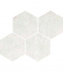 CERAMIKA COLOR universal white mosaic 21x26 szt g1