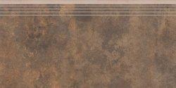 CERRAD apenino rust rect .stopnica nacinana * 597x297x8,5 g1 szt.