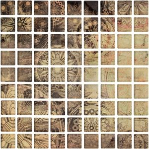 CERAMIKA KONSKIE ottavio glass mosaic 25x25 szt g1