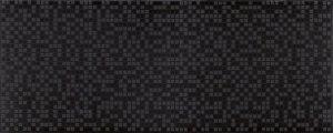 CERAMIKA KONSKIE alfa black inserto 20x50 szt g1