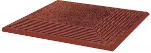 PARADYZ taurus brown stopnica narozna 30x30 g1