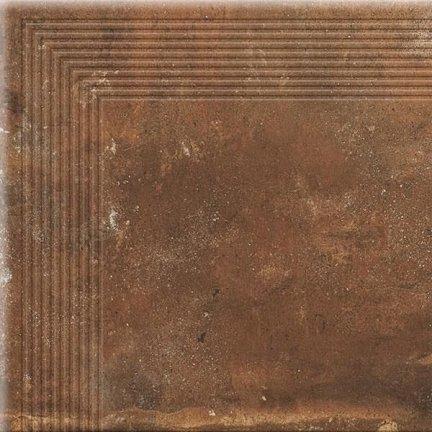 CERRAD stopnica narożna piatto red 300x300x9 g1 szt..
