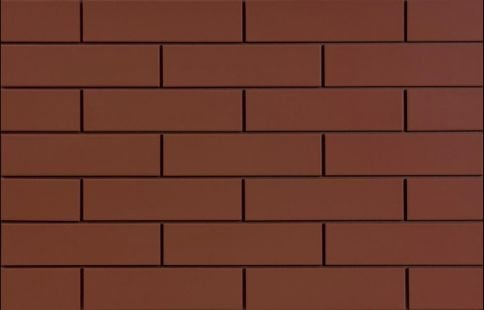CERRAD elewacja burgund 245x65x6,5 m2