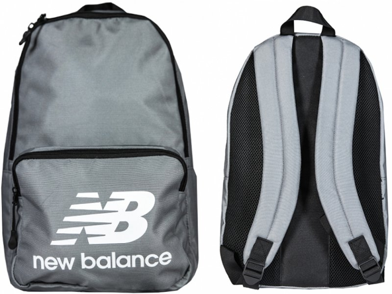 PLECAK NEW BALANCE TEAM BACKPACK SZARY NTBCBPK8GR