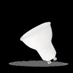 ŻARÓWKA LED 6W 230V GU10 z MLECZNĄ SZYBKĄ WOJ13265 BARWA CIEPŁA