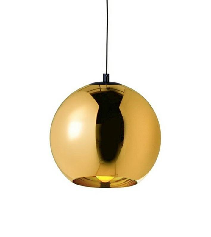Http Lampystudio Pl Lampa Wiszaca Bolla Up Gold 25 Szklo