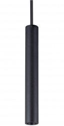 ITALUX KILIAN HL7728-M/3W BL LAMPA WISZĄCA TUBA CZARNA NOWOCZESNA