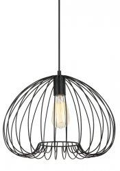 ITALUX MEDDI LAMPA WISZĄCA CZARNA INDUSTRIALNA LOFT MDM-4583-1 BK
