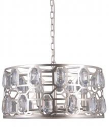 LAMPA WISZĄCA Z KRYSZTAŁKAMI ITALUX MOMENTO PND-43400-6 NOWOCZESNA