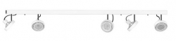 LAMPA SUFITOWA LISTWA CROSS WHITE 9604 NOWODVORSKI