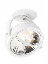 LAMPA OPRAWA SPOT MILAGRO LUGAR ML5699 WHITE 1xAR111 GU10  MONTAŻ PODTYNKOWY