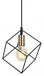 NOWOCZESNA LAMPA WISZĄCA ITALUX MORESTEL MDM-4244/1 BK+BRO