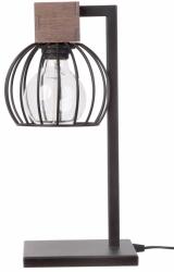 LAMPA STOŁOWA BIURKOWA MILAN BROWN 50120 SIGMA