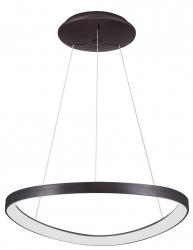 ITALUX MORFI 5355-848ROP-BC-3 LAMPA WISZĄCA KOŁO LED NOWOCZESNA DO SALONU - JADALNI