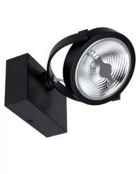 OPRAWA REFLEKTOR / KINKIET MILAGRO ML5704 LUGAR BLACK 1xAR111 GU10 LAMPA SPOT