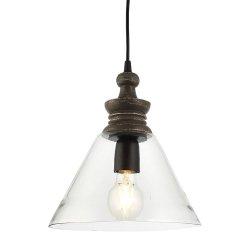 INDUSTRIALNA LAMPA SUFITOWA SZKLANA ENDON KERALA 90576