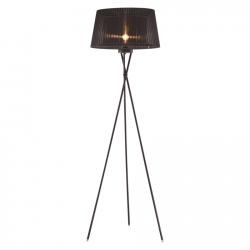 LAMPA PODŁOGOWA OSLO F01437BK COSMO LIGHT CZARNA NOWOCZESNA