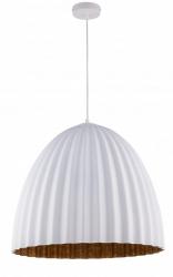 NOWOCZESNA LAMPA SUFITOWA SIGMA TELMA WHITE-COPPER 32023