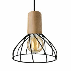 DRUCIANA LAMPA WISZĄCA LIGHT PRESTIGE MODERNO LP-1221/1P S E27 BK