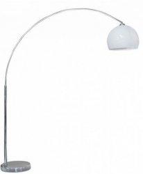 AZZARDO GIO AZ0016 LAMPA PODŁOGOWA CHROM/WHITE