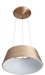 ITALUX LUNGA LAMPA WISZĄCA OKRĄGŁA NOWOCZESNA 5356-840RP-GB-3