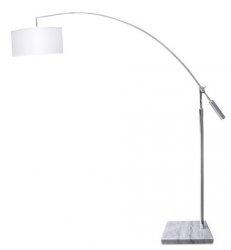 AZZARDO BIANCA AZ0005 LAMPA PODŁOGOWA BIAŁA
