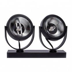 OPRAWA REFLEKTOR MILAGRO ML5706 LUGAR BLACK 2xAR111 GU10 LAMPA SPOT CZARNA