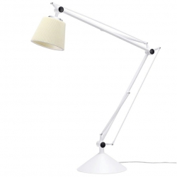 LAMPA BIURKOWA RAYON ARM 720T.WH.FABRIC KING HOME