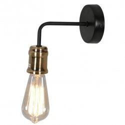 LAMPA KINKIET ŚCIENNY GOLDIE WITHOUT BULBS 21-56160 CANDELLUX