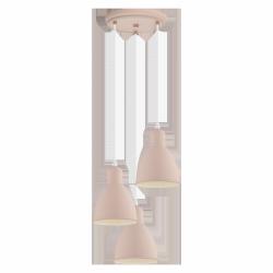 PASTELOWA LAMPA WISZĄCA PRIDDY-P 49084 EGLO VINTAGE RÓŻOWA