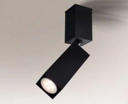 LAMPA SUFITOWA SPOT REFLEKTOR SHIMA 2203 SHILO CZARNA