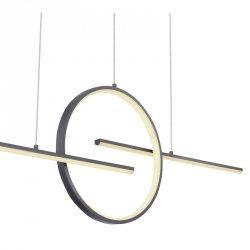 NOWOCZESNA ŚCIEMNIALNA LAMPA WISZĄCA LED BARRAL 67121-50G GLOBO