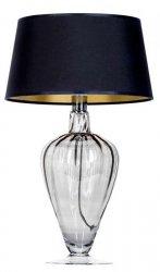 LAMPA STOŁOWA BRISTOL TRANSPARENT BLACK 4CONCEPTS L046311514