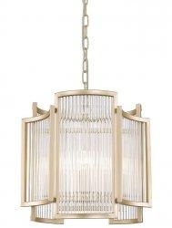ŻYRANDOL W KLASYCZNYM STYLU ZUMA LINE SERGIO P0528-03A-V6AC ZŁOTA LAMPA WISZĄCA GLAMOUR
