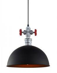 NOWOCZESNA LAMPA WISZĄCA ROSA ITALUX MDM2776/1BK