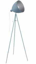 EGLO CHESTER-P 49046 PASTELOWA LAMPA PODŁOGOWA STOJĄCA NA TRÓJNOGU NIEBIESKA VINTAGE LOFT