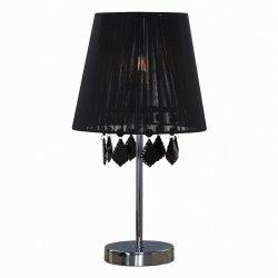 ABAŻUROWA LAMPA SYOŁOWA LIGHT PRESTIGE MONA LP-5005/1TS czarna