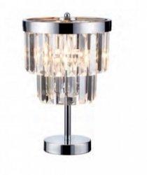 KRYSZTAŁOWA LAMPA STOŁOWA GLAMOUR LIGHT PRESTIGE VETRO LP-2910/1T