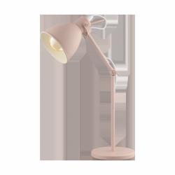 PASTELOWA LAMPA STOŁOWA BIURKOWA PRIDDY-P 49086 EGLO RÓŻOWA