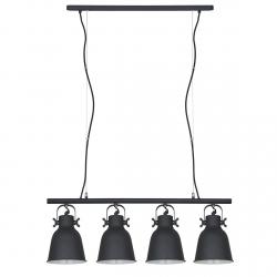 INDUSTRIALNA LAMPA WISZĄCA ITALUX LAVARE MD-HN82608-4-BK+WH