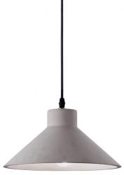 BETONOWA LAMPA WISZĄCA OIL--6  IDEAL LUX 129099