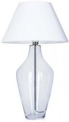 LAMPKA STOŁOWA ABAŻUROWA BIAŁA VALENCIA L010031215