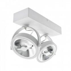 OPRAWA REFLEKTOR MILAGRO ML5705 LUGAR WHITE 2xAR111 GU10 LAMPA SPOT BIAŁA