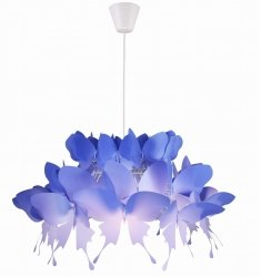 DZIECIĘCA LAMPA WISZĄCA LIGHT PRESTIGE FARFALLA LP-3439/1P blue