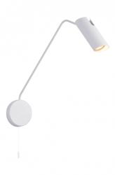 KINKIET ŚCIENNY NA WYSIĘGNIKU FUTURO LIGHT PRESTIGE LP-17001/1WL WH