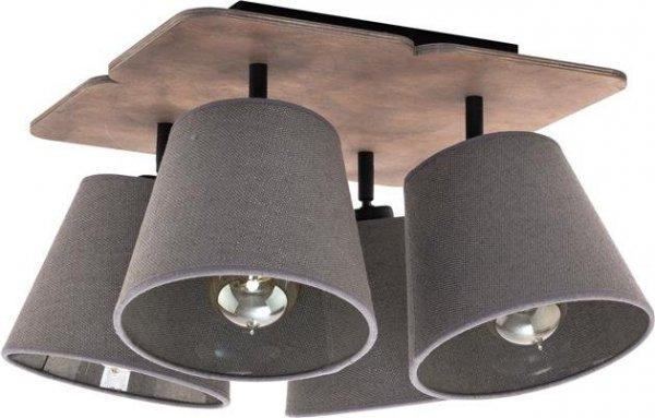 LAMPA SUFITOWA PLAFON AWINION 9716 NOWODVORSKI