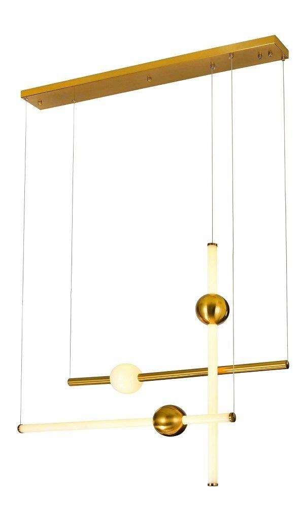 ITALUX HALLING LAMPA WISZĄCA DESIGNERSKA MIEDZIANA NOWOCZESNA