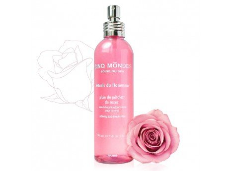 Rose petals rain mist/Relaksująca mgiełka z płatków róż