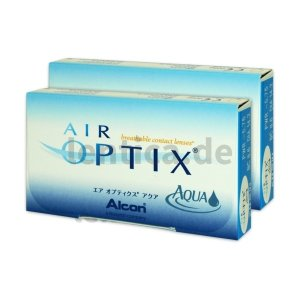 Air optix Aqua 2 x 6 Stck.